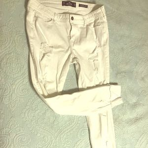 Hollister Low Rise Súper Skinny Jeans size 15